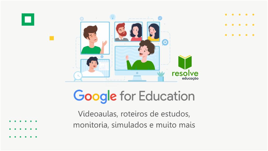 Google For Education: tecnologia que transforma os métodos educativos chega à Resolve Educação