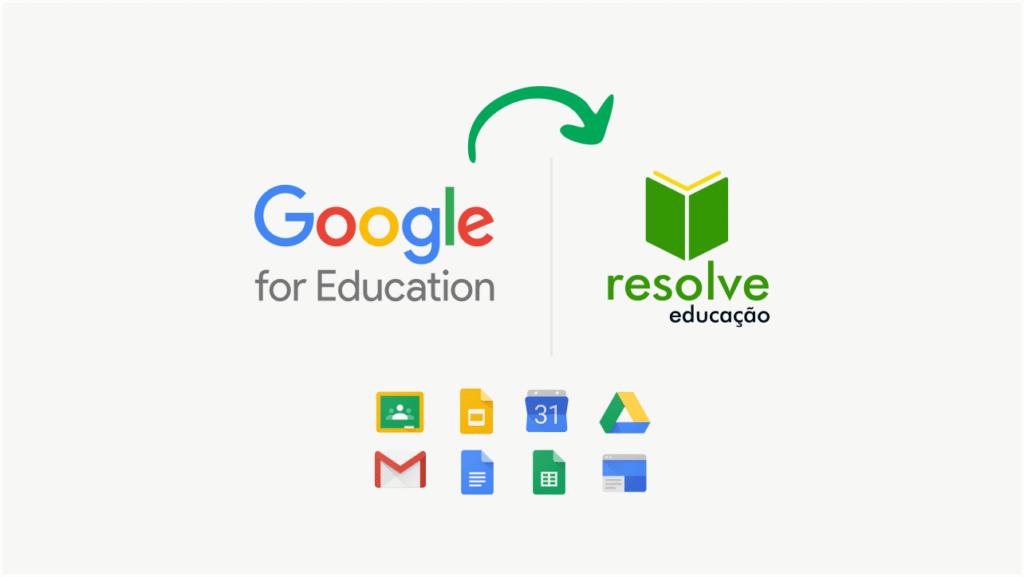 A Resolve Educação agora é parte do universo Google for Education!